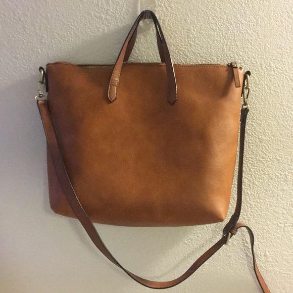 623af6a1ae448 Handbags - Kate   Alex Cuffaro Cognac Tote